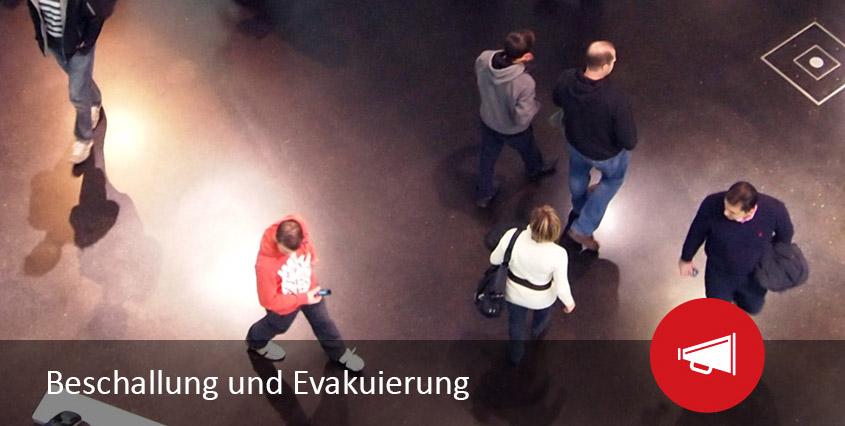 Gebäudesicherheit durch Beschallungs- und Evakuierungssysteme