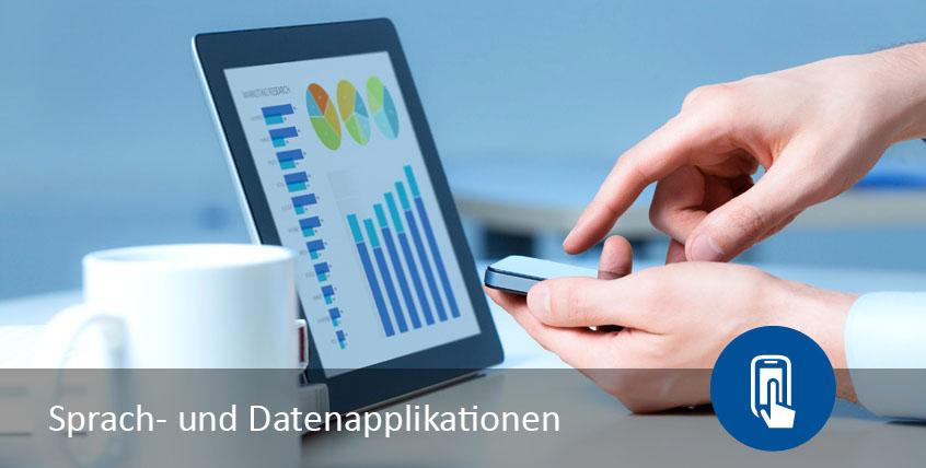 Kommunikation einfach und nutzerfreundlich mit Sprach- und Datenapplikationen